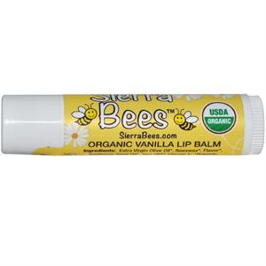 Sierra bees Organic Vanilla Lip Balm