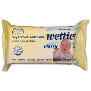 wetties Baby Comfort-Feuchttücher Törlőkendő