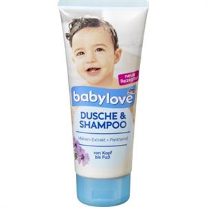 Babylove Dusche & Shampoo Tusfürdő és Sampon