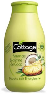 Cottage Ananászos és Kókuszkrémes Tusfürdő