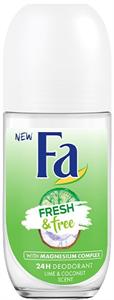 Fa Fresh & Free Lime-Coconut Golyós Deo