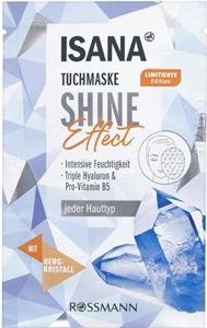 Isana Tuchmaske Shine Effect