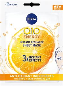Nivea Q10 Energy 10 Perces Fátyolmaszk