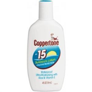 Coppertone Sunscreen Medium SPF15 Uva/Uvb