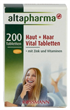 Altapharma Haut + Haar Vital Tabletten