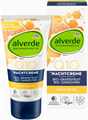 Alverde Q10 Éjszakai Krém Bio-Grapefruittal és Bio-Homoktövissel, 30 Év Feletti Bőrre