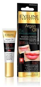 Eveline Cosmetics Argan Oil SOS Lip Booster With Hyaluronic Acid