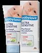 Babylove Ultra Sensitive Panthenol Védőkrém Pelenkakiütés Ellen