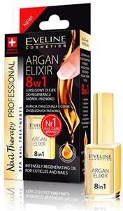Eveline Cosmetics Nail Therapy Argan Elixir 8in1 Regeneráló Olaj
