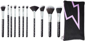 Beautybay The Collection Iconic 12 Piece Brush Set With Bag