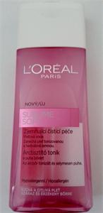 L'oreal Paris Sublime Soft Arctisztító Tonik