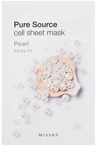 Missha Pure Source Cell Sheet Mask - Pearl
