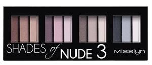 Misslyn Shades Of Nude3 Szemhéjpúder Paletta