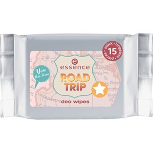 Essence Road Trip Deo Wipes