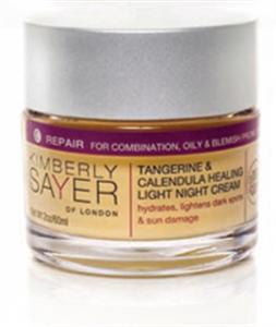 Tangerine & Calendula Healing Light Night Cream