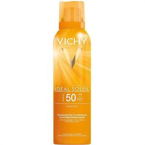 Vichy Idéal Soleil Láthatatlan Napvédő Permet SPF50
