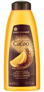 Yves Rocher Collection Cacao Kakaó és Narancs Tusfürdő