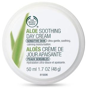 The Body Shop Aloe Verás Nappali Arckérm
