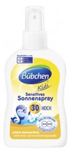 Bübchen Kids Sensitives Pumpás Naptej SPF30