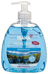 Isana Frühlingsseife Bergquelle Folyékony Szappan