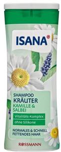 Isana  Kräuter Shampoo Kamille & Salbei