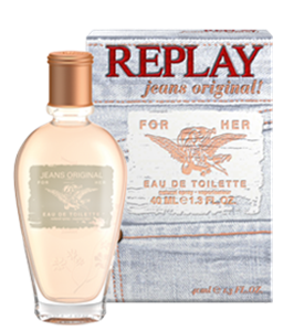 Replay Jeans Original! For Her EDT