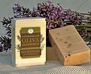 Kistermelői Olívaszappany Kecsketejjel, Levendulával