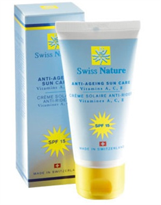 Swiss Nature Bőröregedés Elleni Naptej