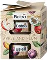 Balea Apple and Plum Geschenkset Zucker-Öl-Peeling Plum Crumble Cukorradír
