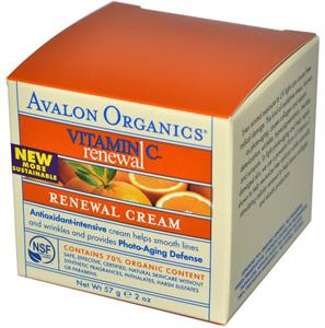 Avalon Organics Bőrmegújító Krém C-Vitaminnal