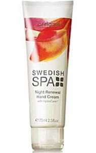 Oriflame Swedish Spa Éjszakai Bőrmegújító Kézkrém