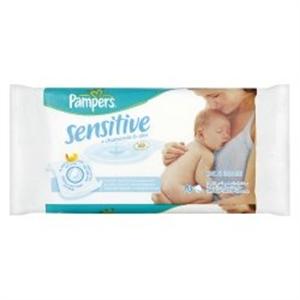Pampers Sensitive Törlőkendő