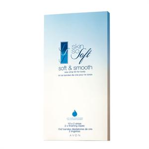 Avon Skin So Soft Használatra Kész Hideg Gyantacsíkok Testre