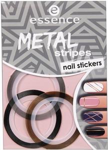 Essence Metal Stripes Körömmatrica