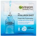 Garnier Skinactive Hyaluron Shot Fresh-Mix Kendőmaszk