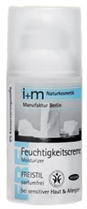i+m Illatmentes Hidratáló Arckrém - Nagyon Érzékeny Bőrre
