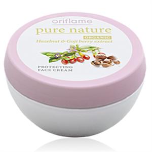 Oriflame Pure Nature Organic Hazelnut & Goji berry Vitalizáló Bőrvédő Arckrém