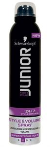 Schwarzkopf Junior Style & Volume Hairspray
