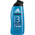 Adidas After Sport Hair & Body Sampon és Tusfürdő