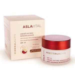 Farmec Aslavital Anti-Wrinkle Mineralizing Cream