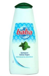 Baba Sampon Zsíros Hajra Zöld Teával és Citromfűvel