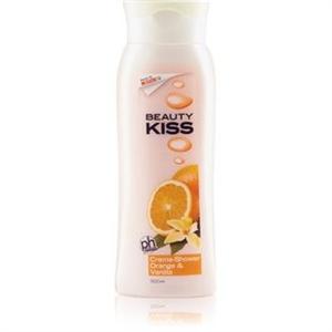 Beauty Kiss Narancs & Vanília Illatú Krémtusfürdő