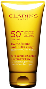 Clarins Sun Wrinkle Control Cream For Face UVA/UVB 50+