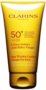 Clarins Sun Wrinkle Control Cream For Face UVA/UVB 50+
