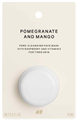 H&M Gránátalma és Mangó Arcmaszk Fáradt Bőrre