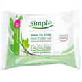 Simple Kind To Eyes Eye Make-Up Remover Pads