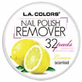 L.A. Colors Nail Polish Remover Pads Lemon Scented