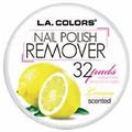 L.A. Colors Nail Polish Remover Pads Lemon Scented
