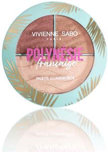 Vivienne Sabó Polynésie Francaise Highlighter Paletta