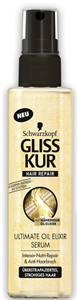 Gliss Kur Ultimate Tápláló Kifésülő Spray